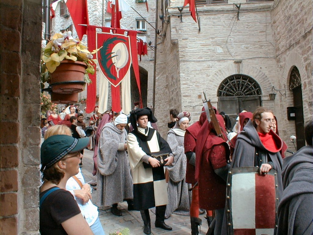 Calendimaggio of Assisi, History and Events